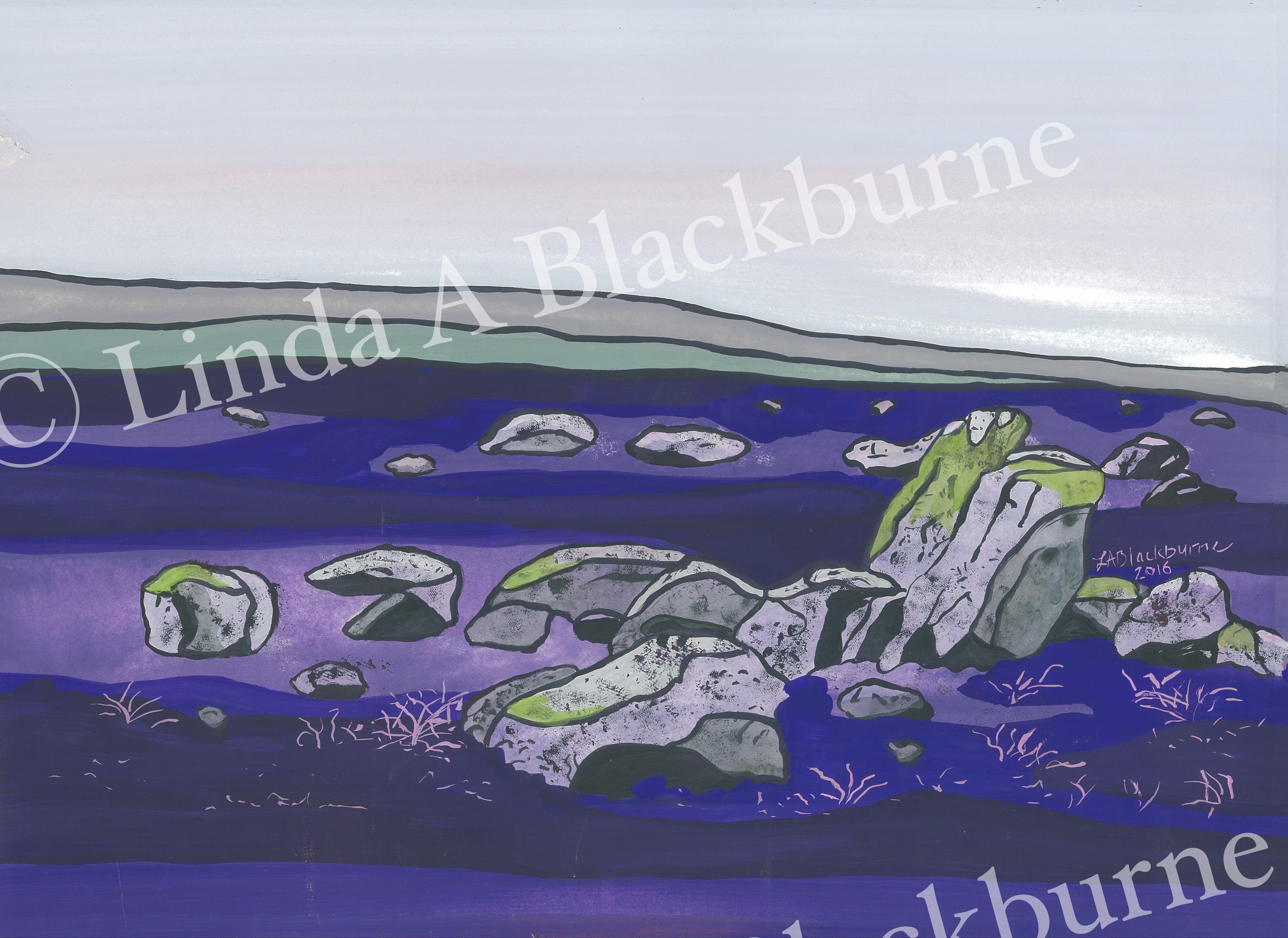 Boulders on Spaunton Moor